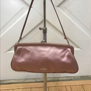 Pink satin Prada bag